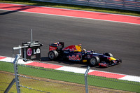 2012 F1 Race at Circuit of the Americas in Austin